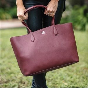 Tory Burch Perry Tote in Burgundy